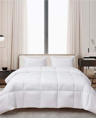 Cannon Ultra-Soft Nano-Touch Extra Warmth White Down Fiber Comforter, Twin