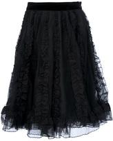RED Valentino ruffle full skirt