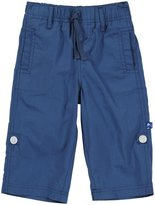 Kickee Pants Woven Roll Up Pants (Baby)-Twilight-0-3 Months