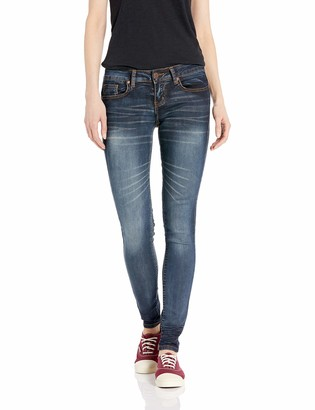 Cover Girl Mid High Rise Waisted Butt Shaping Skinny Juniors