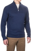 Neve Connor Classic Zip Neck Sweater - Merino Wool (For Men)