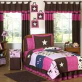 JoJo Designs Sweet Cowgirl 3-Piece Full/Queen Comforter Set