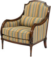 John-Richard Collection John Richard Carved Upholstered Armchair