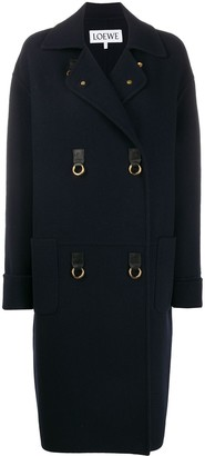 Loewe Double-Breasted Coat