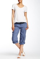 Marrakech Turner Linen Capri Pants