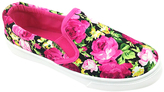 Fuchsia Cay Floral Slip-On Sneaker