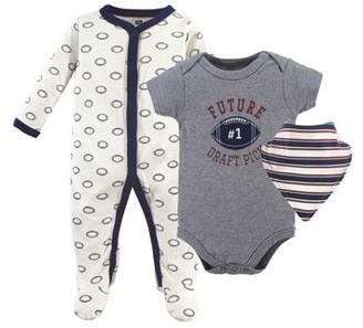 Hudson Baby Sleep N Play, Bodysuit & Bandana Bib (Baby Boys)