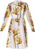 Fendi Bird of Paradise-print dress