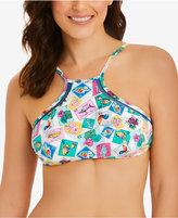 Vera Bradley See Ya Soon Harper High-Neck Bikini Top