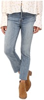 Free People Far from Any Road Cropped Jeans in Denim Blue
