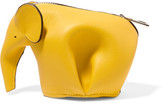 Loewe Elephant Leather Wallet - Bright yellow