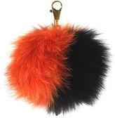 Black/orange Ponpon Charm