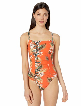 Seafolly Women's DD Cup Square Neck One Piece Swimsuit