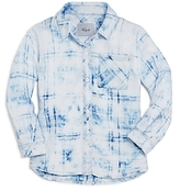 Rails Girls' Hudson Faded Button Down Shirt - Little Kid, Big Kid