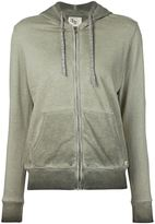 321 - washed effect hoodie - women - Cotton/Polyester - XS