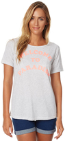 Billabong Welcome To Paradise Womens Tee Grey