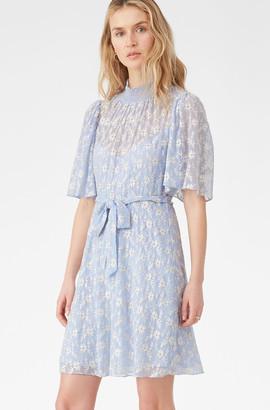 Rebecca Taylor Floral Vine Embroidered Dress