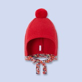 Jacadi Red Liberty print hat