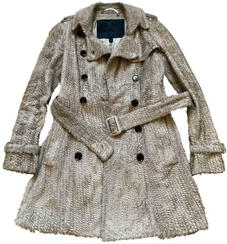 Burberry Beige Leather Coats