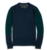 Tommy Hilfiger Colorblock Crew Neck Sweater