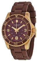 Victorinox Men's Maverick Gs 241608 Rubber Swiss Quartz Watch