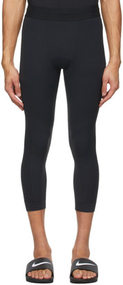 Nike Black Infinalon 3/4 Yoga Tights