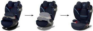 CYBEX Pallas S Fix Group 1/2/3 Safety Cushion Car Seat - Soho Grey