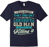Men's I'd Become A Grumpy Old Man T Shirt, Grumpy Old Man T Shirt 3XL