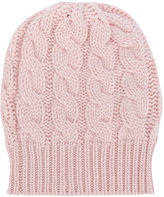 Antonia Zander cable knit beanie - women - Cashmere - One Size