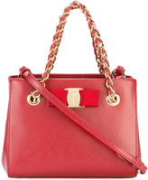 Salvatore Ferragamo shoulder bag - women - Calf Leather/metal - One Size