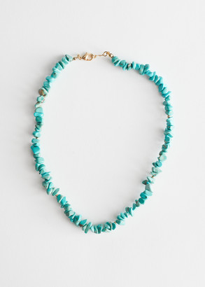 And other stories Stone Beaded Fitted Necklace