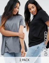 Asos Swing T-Shirt 2 Pack