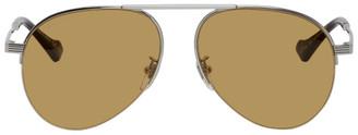 Gucci Silver GG0742S Sunglasses