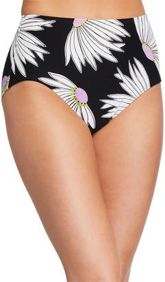 Kate Spade Daisy High-Waist Bikini Swim Bottom