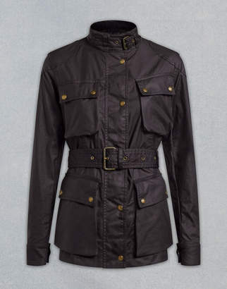 Belstaff TRIALMASTER WAXED JACKET Black UK 8 /