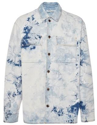 Off-White Arrow oversized denim shirt