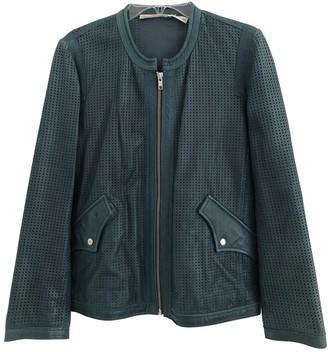 Etoile Isabel Marant Green Leather Jackets