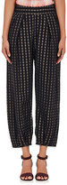 Ace&Jig Women's Casbah Mixed-Striped Gauze Pants-BLACK