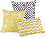 "Trina Turk Giraffe 18"" Square Decorative Pillow"