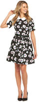 Love Label Floral Peterpan Collar Dress In Print Size 8