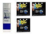 Barc Bump Down Razor Bump Relief, Alcohol-Free, Unscented Lotion, 1.7 Oz + Bump Fighter Cartridge Refill, 5 Ct (Pack of 3) + FREE Scunci Black Roller Pins, 18 Pcs