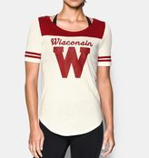 Under Armour Women's Wisconsin UA Iconic Collection Jersey T-Shirt