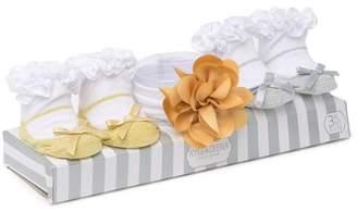 Cutie Pie Baby Boxed Ruffled Socks & Headband Set (Baby Girls)