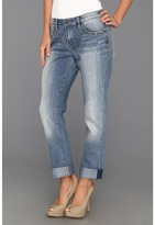 Jag Jeans Henry Relaxed Boyfriend w/ Studs in Classic Vintage