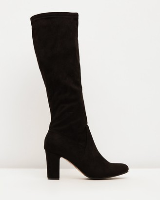 Verali - Women's Black Knee-High Boots - Zack - Size One Size, 39 at The Iconic