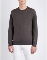 Brunello Cucinelli Crewneck Wool And Cashmere-blend Jumper