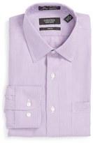 Nordstrom Men's Smartcare(TM) Trim Fit Pinstripe Dress Shirt