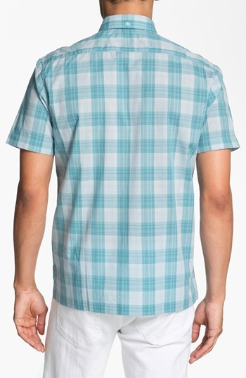 Ben Sherman Gingham Check Short Sleeve Woven Shirt
