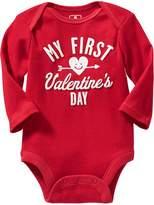 Old Navy Valentine's Day Bodysuits for Baby