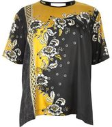 River Island Womens Plus yellow floral print silky top